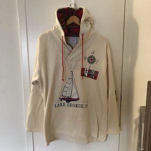 Vintage 90s Lake George hoodie